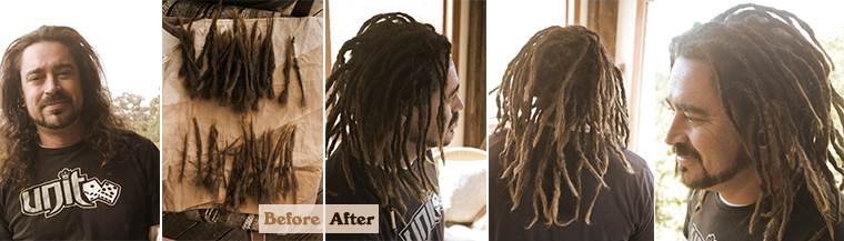 Dreadlock extensions gold coast to byron bay dreadlockgallery extensions lukeg pmusecretfo Gallery